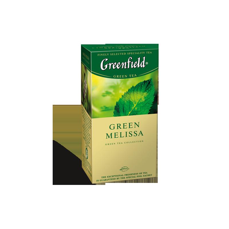 Б-Чай Гринфилд Green Melissa, зел., 25п.*2г