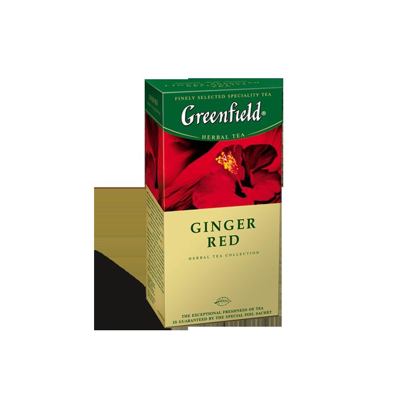 Б-Чай Гринфилд Ginger Red, красн.,25п.*2г