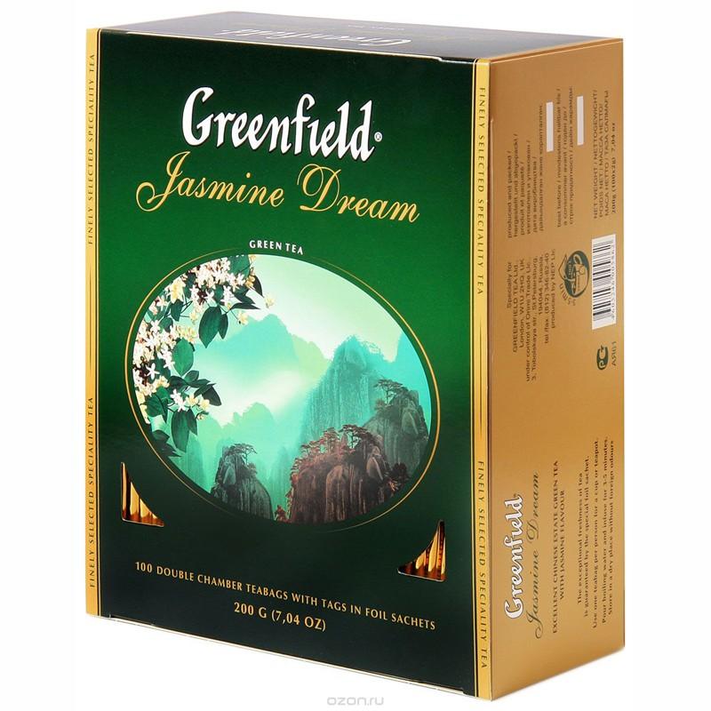 Б-Чай Гринфилд Jasmine Dream, зел., 100п.*2г.