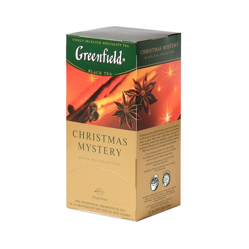 Б-Чай Гринфилд Christmas Mystery, черн., 25п.*2г.