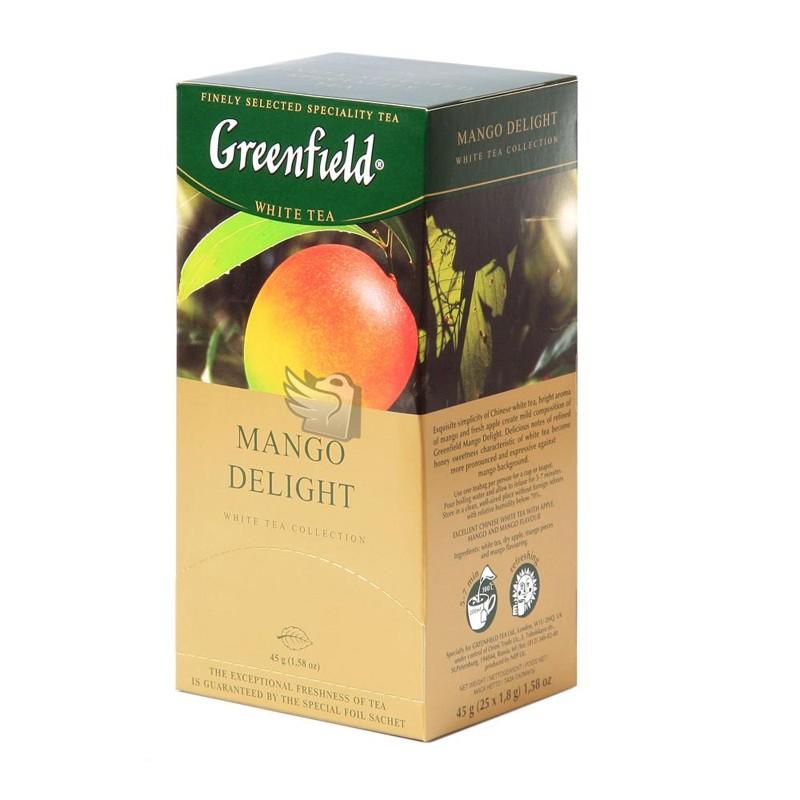 Б-Чай Гринфилд Mango Delight, белый, 25п.*2г