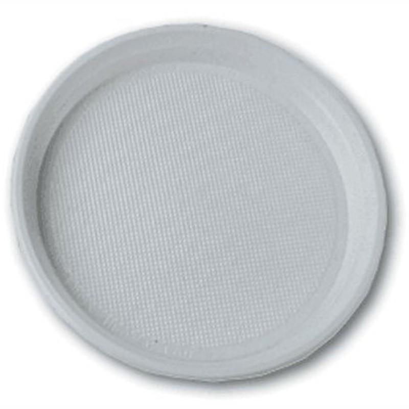 Х-Тарелка десерт. пластик.,100шт./уп.
