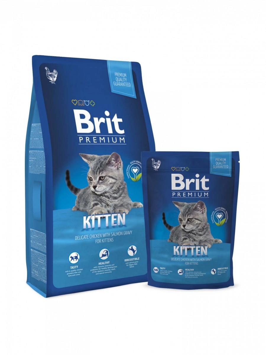 Корм BRIT для котят, беременных и кормящих кошек, 800г