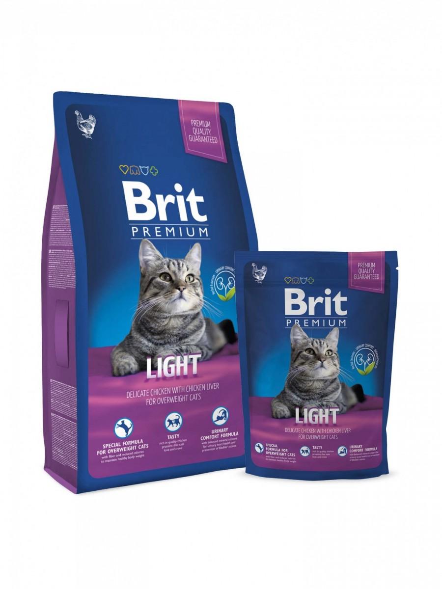Корм Brit для кошек с избыточным весом, 300 гр