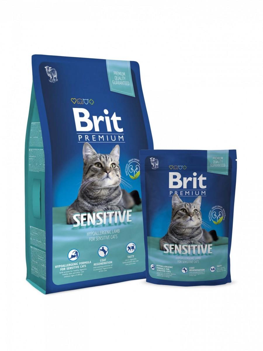 Корм BRIT для кошек с чувствительным пищеварением , 300 г