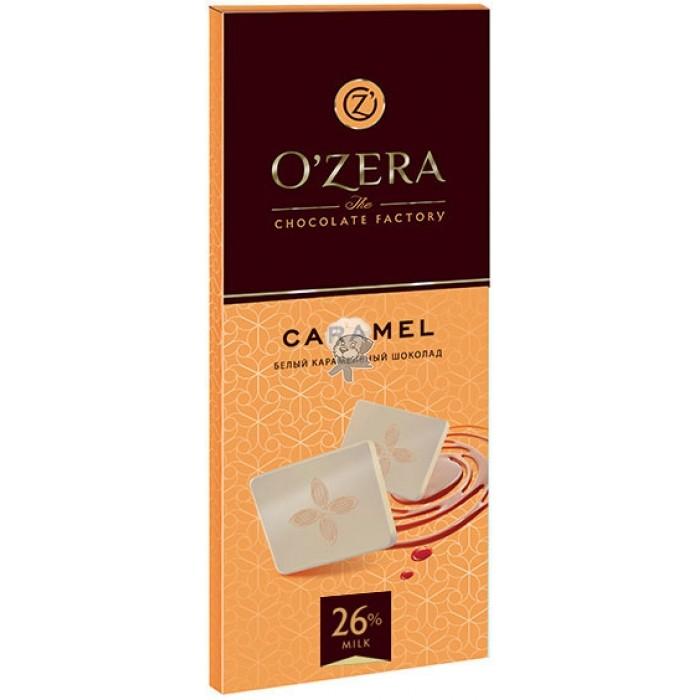 "Шоколад белый O""Zera Caramel 90г"