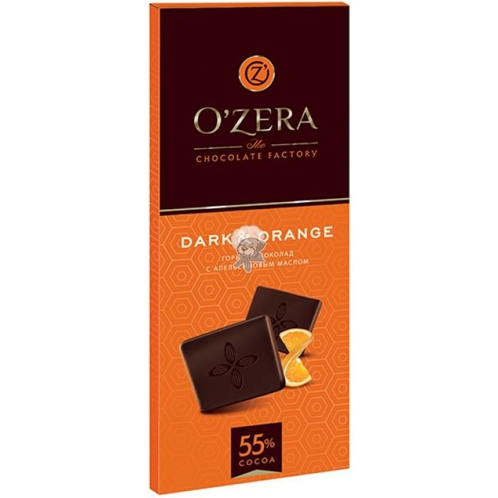 "Шоколад O""Zera горький Dark/Orange 55% 90г"
