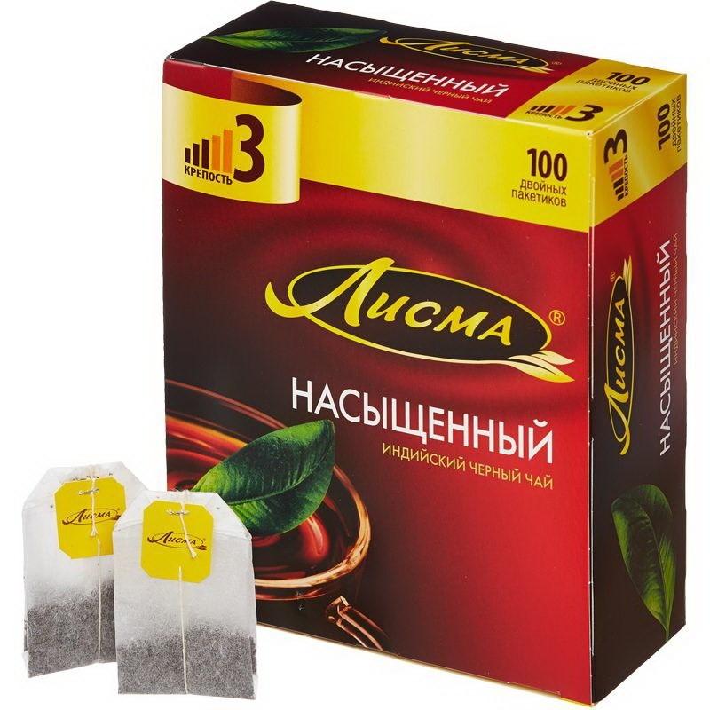Чай Лисма Насыщенный ИНД. 100 п*2