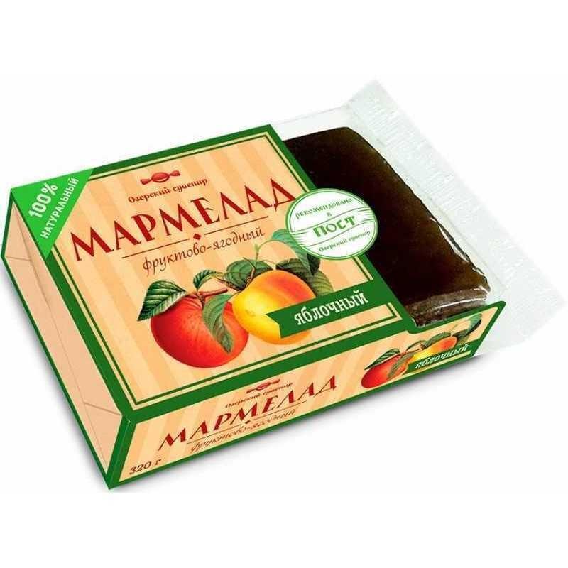 Мармелад жел.-фрукт. Озерский сувенир яблочный 320г