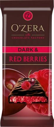 "К-Батончик O""Zera горький Dark/Red berries 40г"