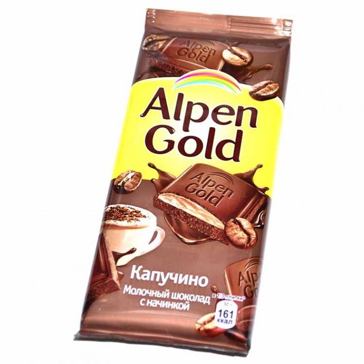 К-Шоколад Алпен Голд, капучино,100г