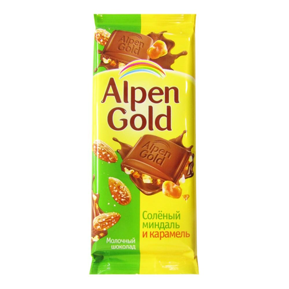 К-Шоколад Алпен Голд, минд/карам., 100г